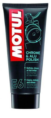 Pasta polish Motul - CHROME&ALU POLISH E6