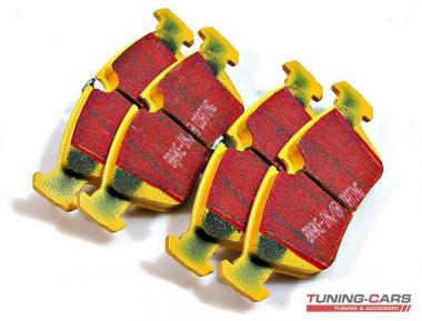 Set placute frana de performanta EBC YELLOWSTUFF DP41211R
